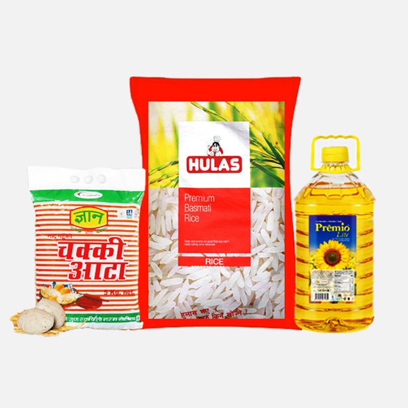 Grocery gifts to Pokhara (Happy Dashain)